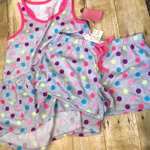 Girls Justice 2-piece pajama set. Brand New